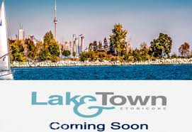 LAKE & TOWN IN ETOBICOKE
