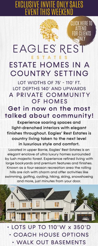 Eagles' Rest Estates in Barrie
